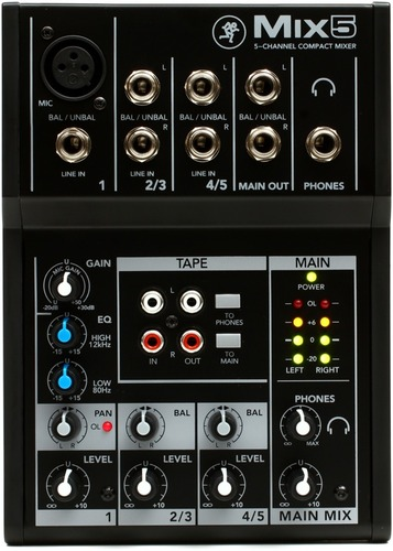 [정식수입] Mix5 - 5 Channel Compact Mixer