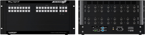 KD-16X16CS/16 Inputs to 16 Outputs HDMI Matrix Switcher Full HD/16:16 16by16 HDMI 매트릭스 스위쳐 분배기 셀렉터 케이블