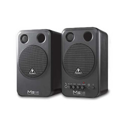 MONITOR SPEAKERS MS16/ High-Performance, Active 16-Watt Personal Monitor System